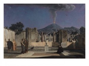 Paul Alfred de Curzon - Dream Amid the Ruins of Pompeii (1866)