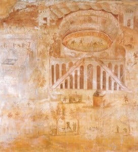 Riot in the Amphitheatre fresco from the House of Actius Anicetus (I.3.23)